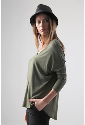Jument 6008 Haki Kadın Bluz