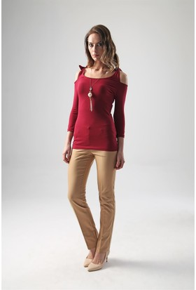Jument 6155 Bordo Kadın Bluz