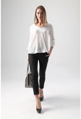 Jument 6163 Krem Rengi Kadın Bluz