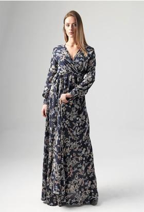 Jument 6172 Lacivert Kadın Elbise
