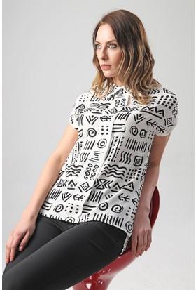 Jument 6179 Siyah D Kadın Gömlek