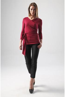 Jument 7002 Bordo Kadın Bluz