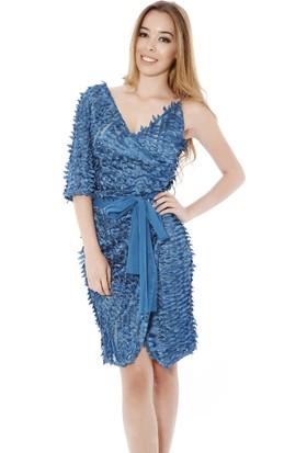 Soie Design Tek Omuz Askılı Abiye Kadın Elbise