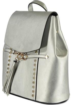 Marjin Veta Sırt Çanta Gümüş
