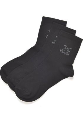 Kinetix Ruth Siyah Kadın Kısa Soket Çorap