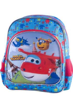 Harika Kanatlar 89063 Mavi Unisex Çocuk Anaokulu Çantası