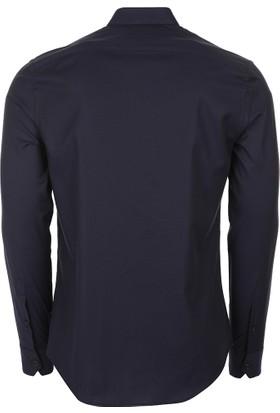 Armani Collezioni Gömlek Erkek Uzun Kol Gömlek UCSM9LUC3F0