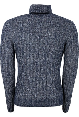 Gran Sasso Erkek Sweatshirt Mavi 1310819801