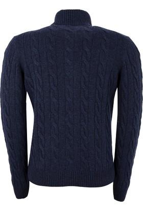 Gran Sasso Erkek Sweatshirt Lacivert 2313819672