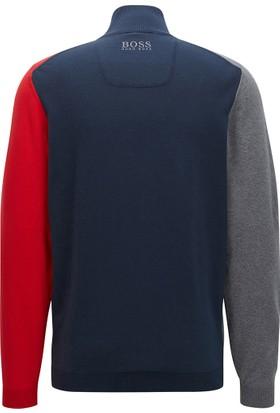Hugo Boss Erkek Sweatshirt Lacivert 50371235