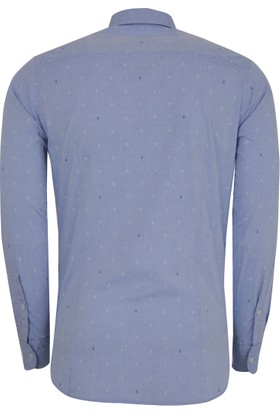 Hugo Boss Erkek Gömlek Mavi 50372918