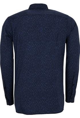 Hugo Boss Erkek Gömlek Lacivert 50373001