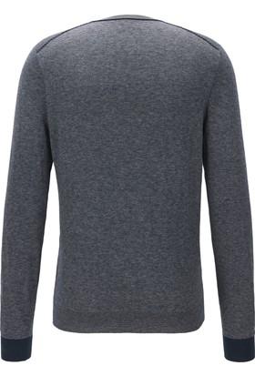 Hugo Boss Erkek Sweatshirt Lacivert 50373887