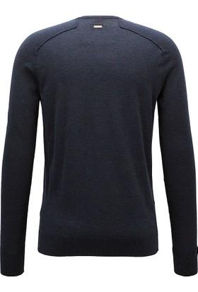 Hugo Boss Erkek Sweatshirt Lacivert 50373889