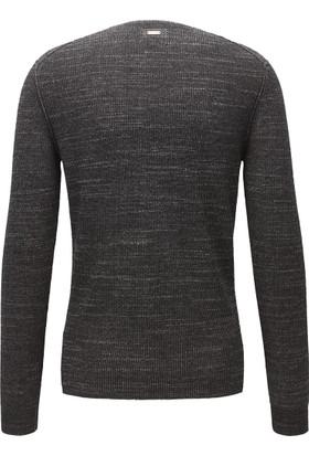 Hugo Boss Erkek Sweatshirt Siyah 50373954
