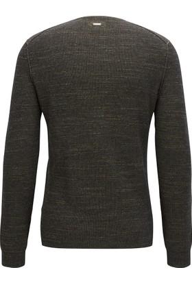 Hugo Boss Erkek Sweatshirt Antrasit 50373954