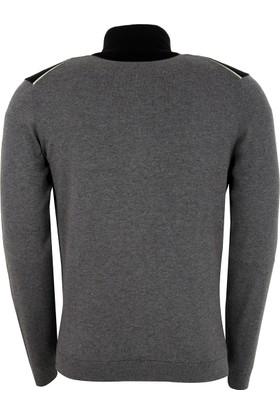 Hugo Boss Erkek Sweatshirt Gri 50374951