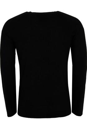 Hugo Boss Erkek Sweatshirt Siyah 50375100