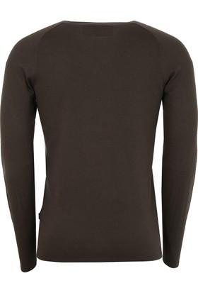 Hugo Boss Erkek Sweatshirt Haki 50375100