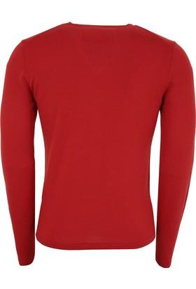 Hugo Boss Erkek Sweatshirt Kırmızı 50375122