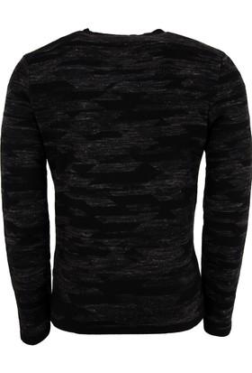 Hugo Boss Erkek Sweatshirt Siyah 50375196
