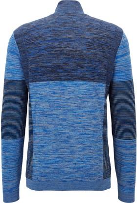 Hugo Boss Erkek Sweatshirt Mavi 50376161
