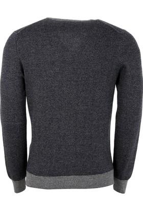 Gran Sasso Erkek Sweatshirt Siyah 5715914228