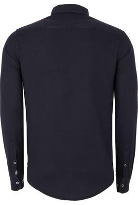 Armani Jeans Erkek Gömlek Siyah 6Y6C746N43Z