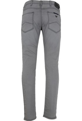 Armani Jeans Erkek Kot Pantolon Gri 6Y6J066D32Z