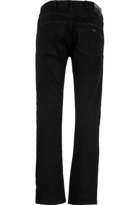 Armani Jeans Erkek Kot Pantolon Siyah 6Y6J456DEEZ