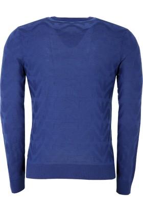 Armani Jeans Erkek Sweatshirt Saks 6Y6MD86M22Z