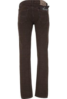 Jacob Cohen Jeans Erkek Pamuklu Pantolon Kahverengi J622COMF00720V