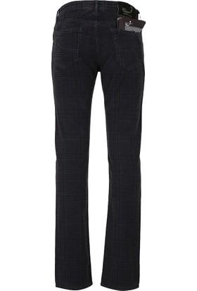 Jacob Cohen Jeans Erkek Pamuklu Pantolon Lacivert J622COMF00720V