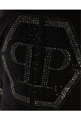 Philipp Plein Erkek T-Shirt Siyah MTK1400PJY002N
