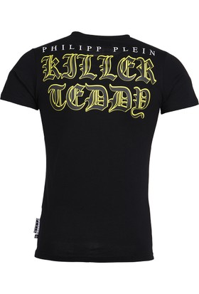 Philipp Plein Erkek T-Shirt Siyah MTK1463PJY002N