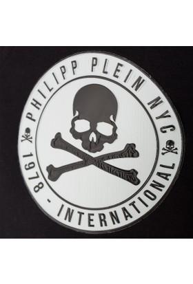 Philipp Plein Erkek T-Shirt Siyah MTK1603PJY002N