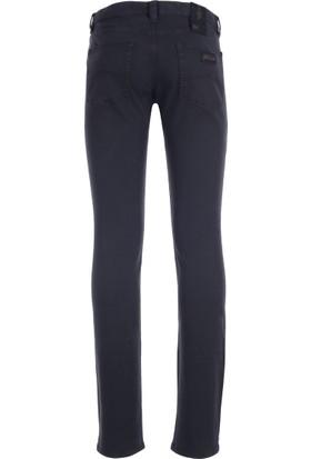 Armani Collezioni Jeans Erkek Pamuklu Pantolon Lacivert UCPJ06UCS01
