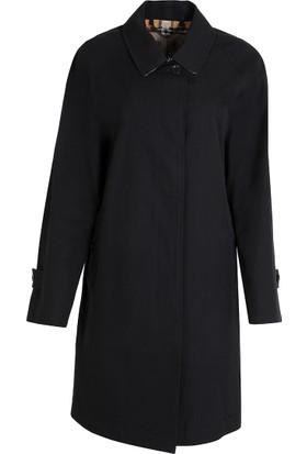 Burberry Kadın Trençkot Siyah 4059992