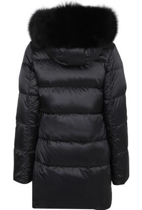 Flo Clo Kadın Mont Siyah G02252NE