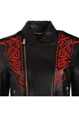 Versace Jeans Kadın Deri Ceket G602096G33523