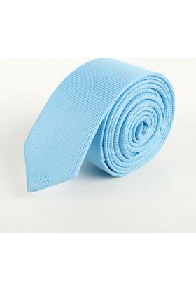 Deepsea Mavi Açık Desenli Erkek Kravat 1809002
