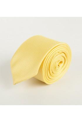 Deepsea Sarı Desenli Erkek Kravat 1809002