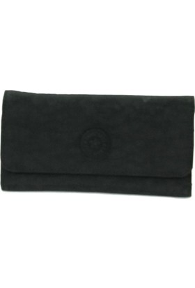 Smart Bags Krinkıl Kumaş Kadın Cüzdan Siyah