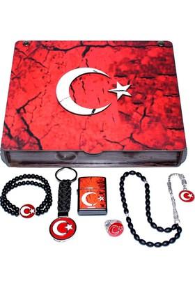 Modaroma Türk Bayrağı 3D Mdf Set