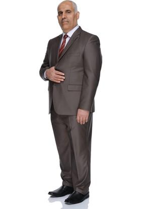Buenza 120S Erkek Takım Elbise Açık Kahve
