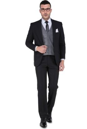 Buenza Erkek Takım Elbise Siyah