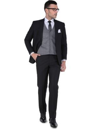 Buenza 120S Erkek Takım Elbise Siyah
