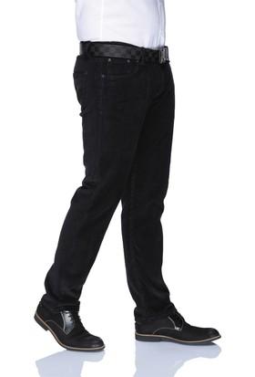 Buenza Dar Kesim Kadife Likralı Erkek Pantolon - Lacivert