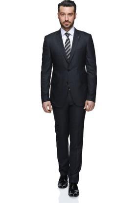 Buenza Ponaldo Mono Tk Yrt 8 Drop Slim Fit Takım Elbise - Antrasit