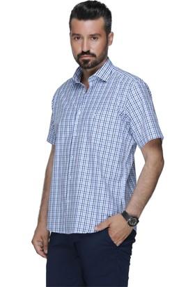 Buenza Plt 58 10 Kısa Kol Gömlek - Lacivert